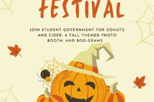 """Poster that reads """"MCCC Fall Festival"""""""